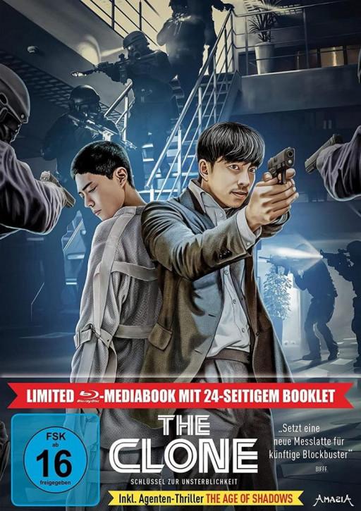 The Clone - Schlüssel zur Unsterblichkeit - Limited Mediabook Edition [Blu-ray]