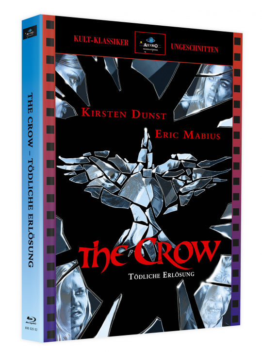 The Crow 3 - Tödliche Erlösung - Mediabook - Cover A [Blu-ray]
