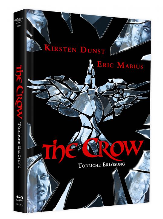 The Crow 3 - Tödliche Erlösung - Mediabook - Cover B [Blu-ray+DVD]