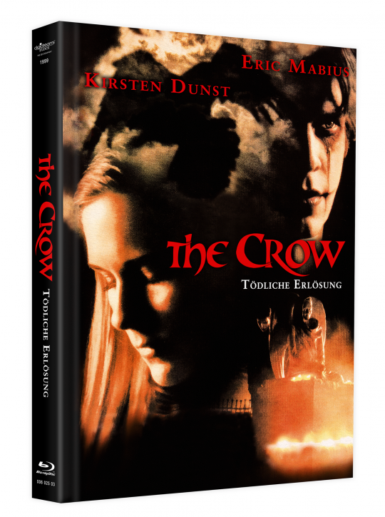 The Crow 3 - Tödliche Erlösung - Mediabook - Cover C [Blu-ray+DVD]