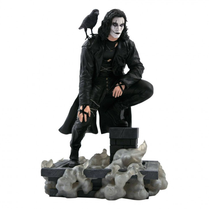 The Crow Movie - Gallery PVC Statue - Rooftop