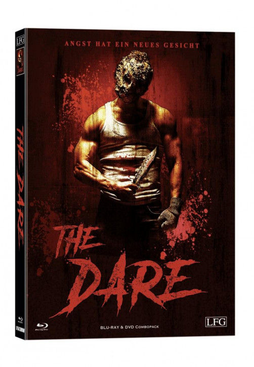 The Dare - Limited Mediabook Edition - Cover Wattiert [Blu-ray+DVD]