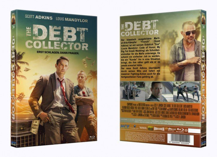 The Debt Collector - Große Hartbox [Blu-ray]