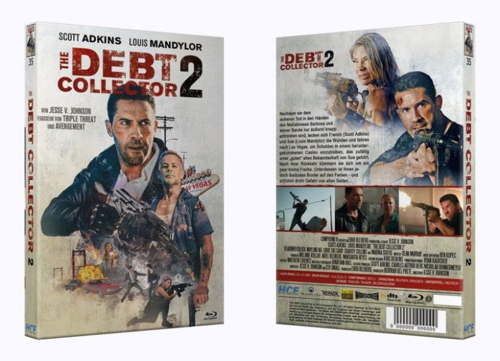 The Debt Collector 2 - Große Hartbox [Blu-ray]