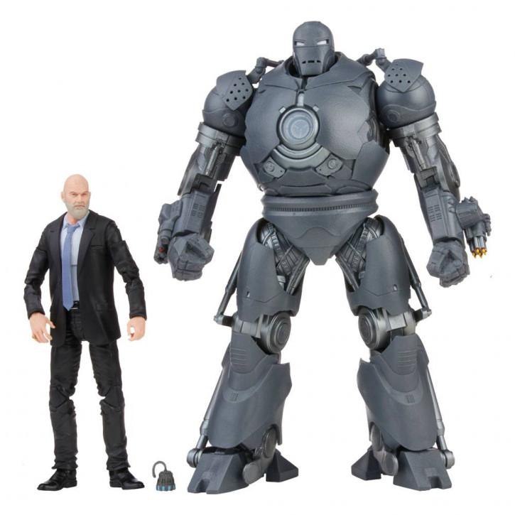 The Infinity Saga Marvel Legends - Actionfiguren 2021 - Obadiah Stane & Iron Monger