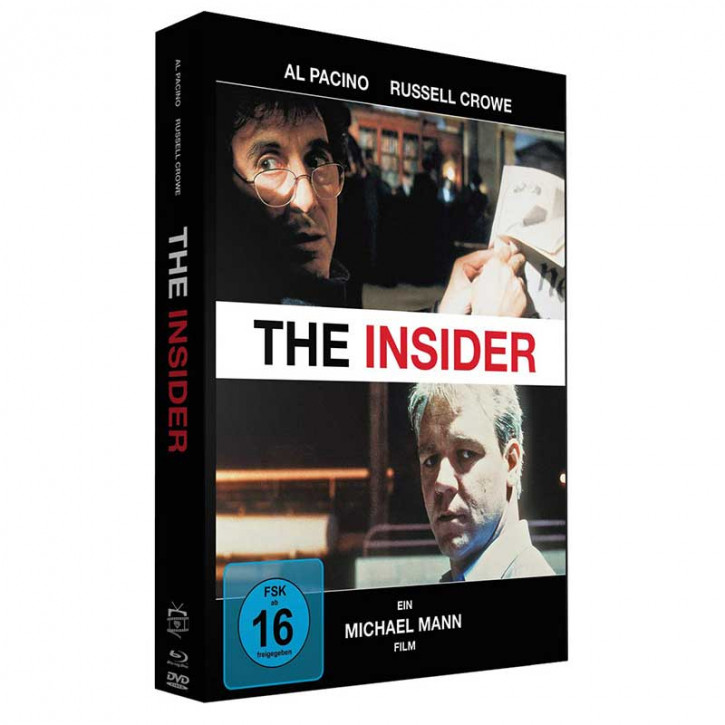 The Insider - Special Edition Mediabook [Blu-ray+DVD]