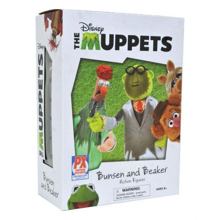 The Muppets - Actionfiguren Box Set Lab Accident - Bunsen & Beaker SDCC 2021