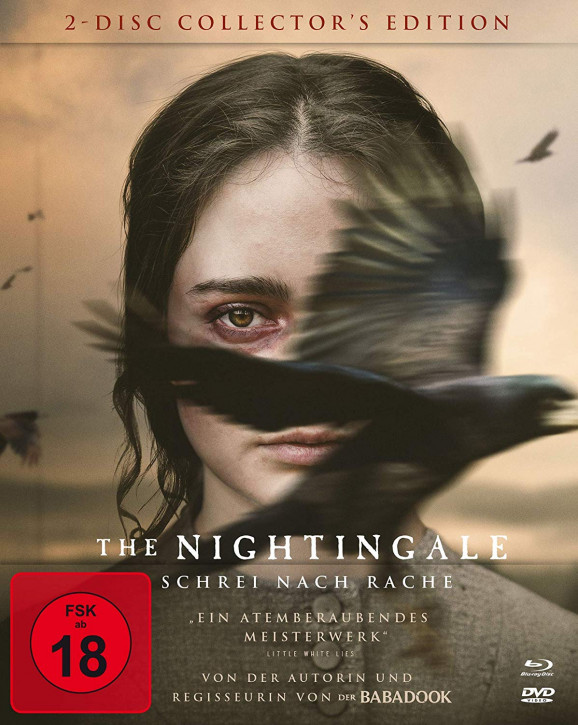 The Nightingale - Schrei nach Rache - Limited Mediabook Edition [Blu-ray+DVD]