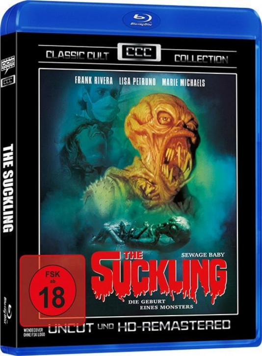 The Suckling (Classic Cult Collection) [Blu-ray]