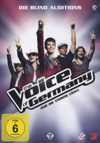 The Voice Of Germany - Die Blind Auditions  [DVD]
