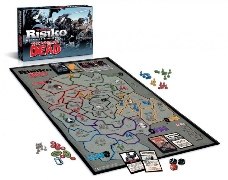 The Walking Dead - Brettspiel - Risiko