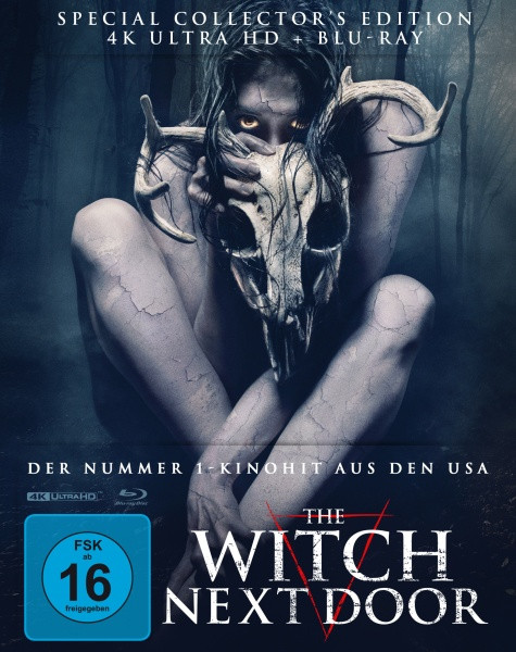 The Witch next Door - Mediabook - Cover B [4K UHD+Blu-ray]