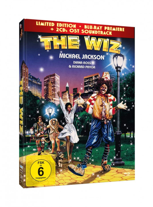 The Wiz - Mediabook Edition [Blu-ray+DVD]