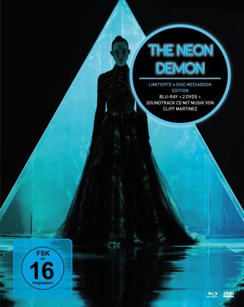 The Neon Demon- Mediabook [Blu-ray+DVD+CD]