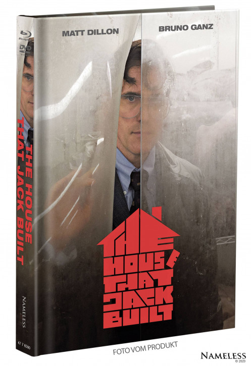 The House That Jack Built - Limited Mediabook - Cover A [Blu-ray+DVD]