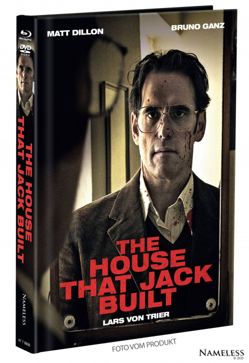 The House That Jack Built - Limited Mediabook - Cover B [Blu-ray+DVD]