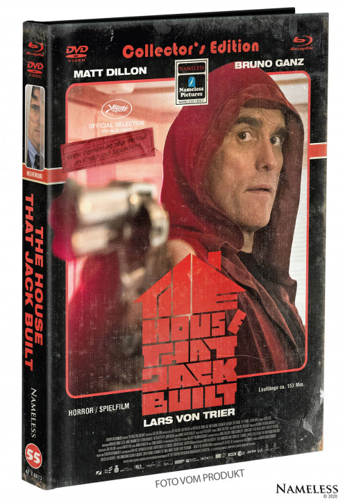 The House That Jack Built - Limited Mediabook - Cover C [Blu-ray+DVD]