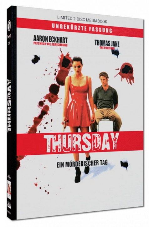 Thursday - Limited Mediabook Edition - Cover A [Blu-ray+DVD]