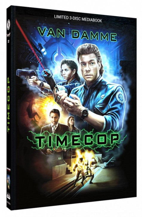 Timecop - Limited Mediabook Edition - Cover A [Blu-ray+DVD]