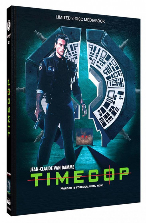 Timecop - Limited Mediabook Edition - Cover B [Blu-ray+DVD]