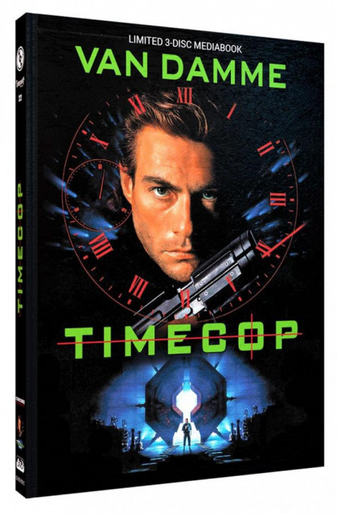 Timecop - Limited Mediabook Edition - Cover C [Blu-ray+DVD]