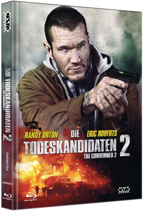 Die Todeskandidaten 2 - The Condemned 2 - Mediabook - Cover A [Blu-ray+DVD]