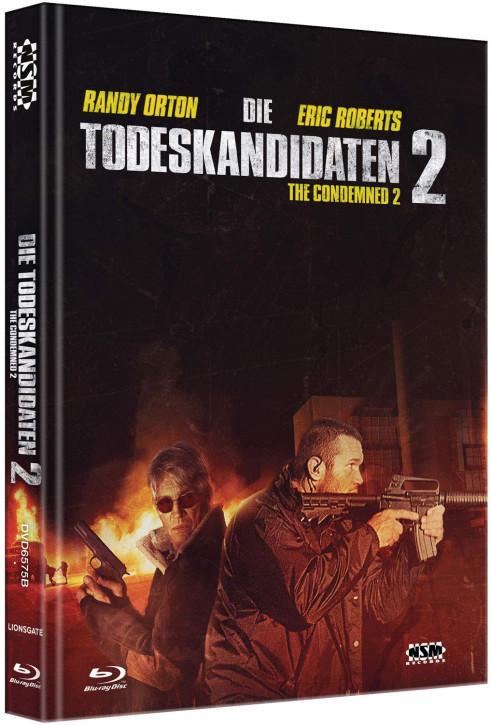 Die Todeskandidaten 2 - The Condemned 2 - Mediabook - Cover B [Blu-ray+DVD]