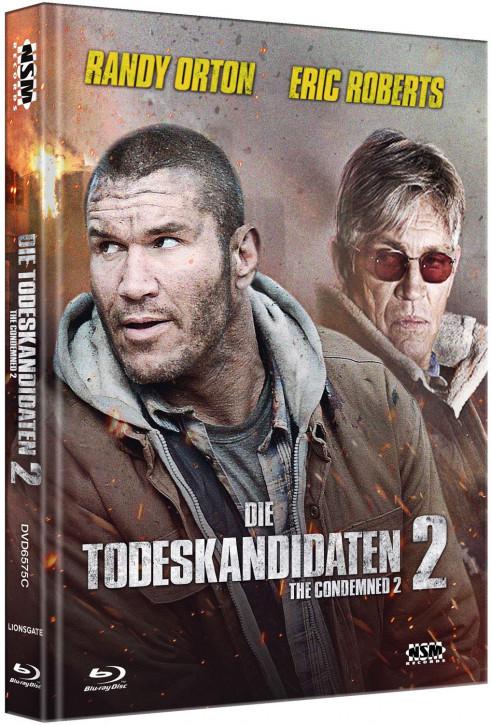 Die Todeskandidaten 2 - The Condemned 2 - Mediabook - Cover C [Blu-ray+DVD]