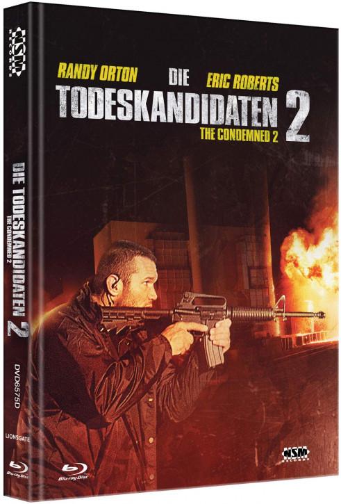 Die Todeskandidaten 2 - The Condemned 2 - Mediabook - Cover D [Blu-ray+DVD]