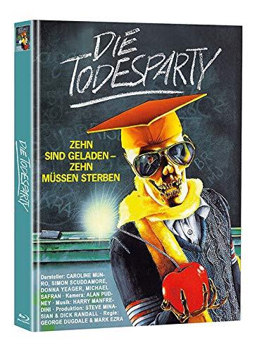 Die Todesparty  - Limited Mediabook Edition (Super Spooky Stories #129) [Blu-ray]