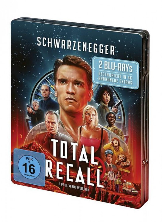 Total Recall - Steelbook [Blu-ray]