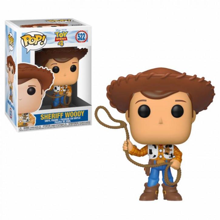 Toy Story 4 POP! - Disney Vinyl Figur 522 - Woody