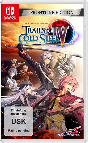 Trails of Cold Steel 4 - Frontline Edition [Nintendo Switch]