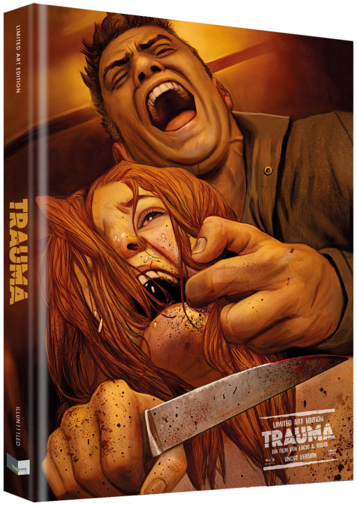 Trauma - Das Böse verlangt Loyalität - Limited Collectors Edition - Cover D [Blu-ray+DVD]