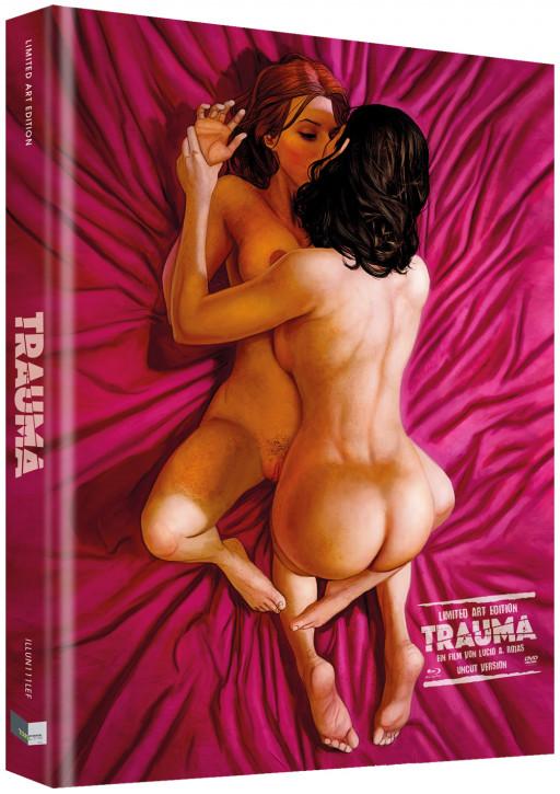 Trauma - Das Böse verlangt Loyalität - Limited Collectors Edition - Cover F [Blu-ray+DVD]
