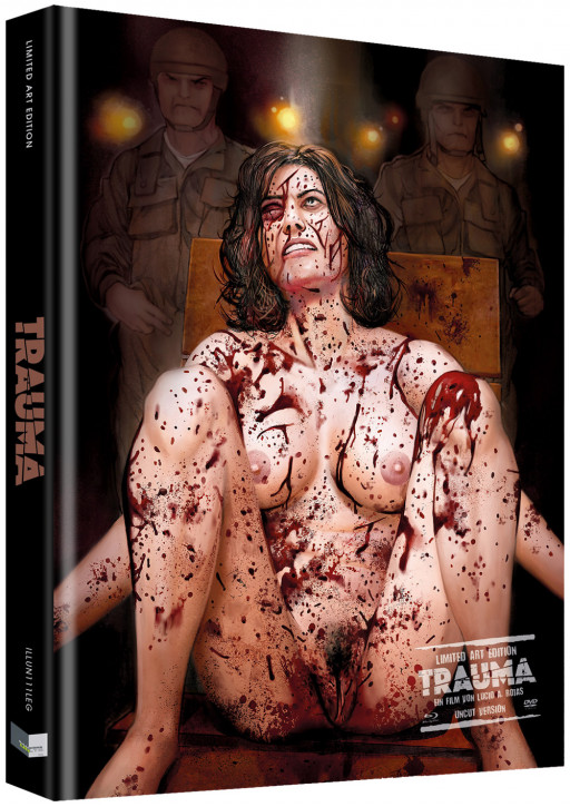Trauma - Das Böse verlangt Loyalität - Limited Collectors Edition - Cover G [Blu-ray+DVD]