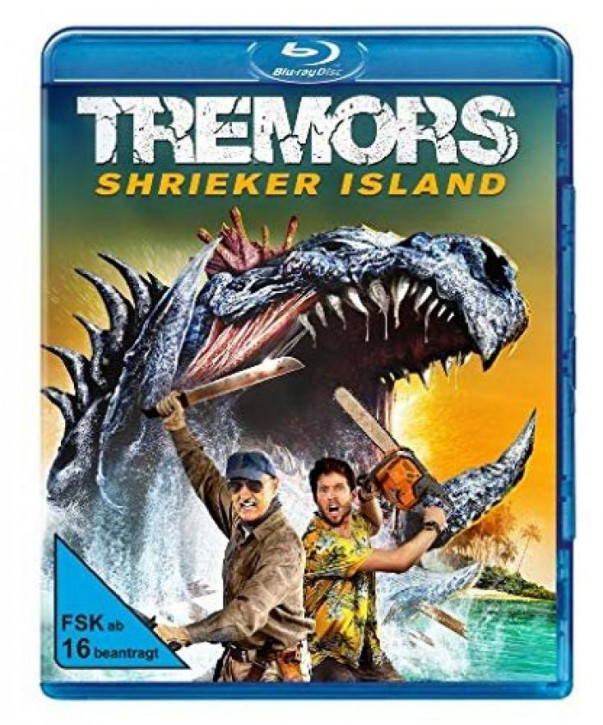 Tremors 7 - Shrieker Island [Blu-ray]