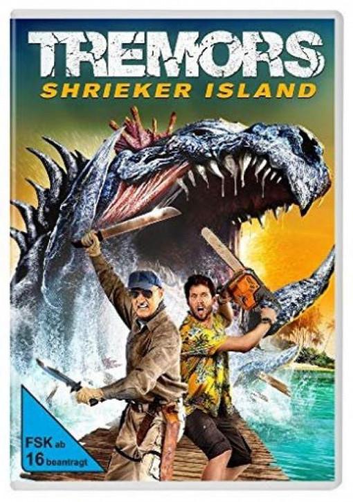 Tremors 7 - Shrieker Island [DVD]