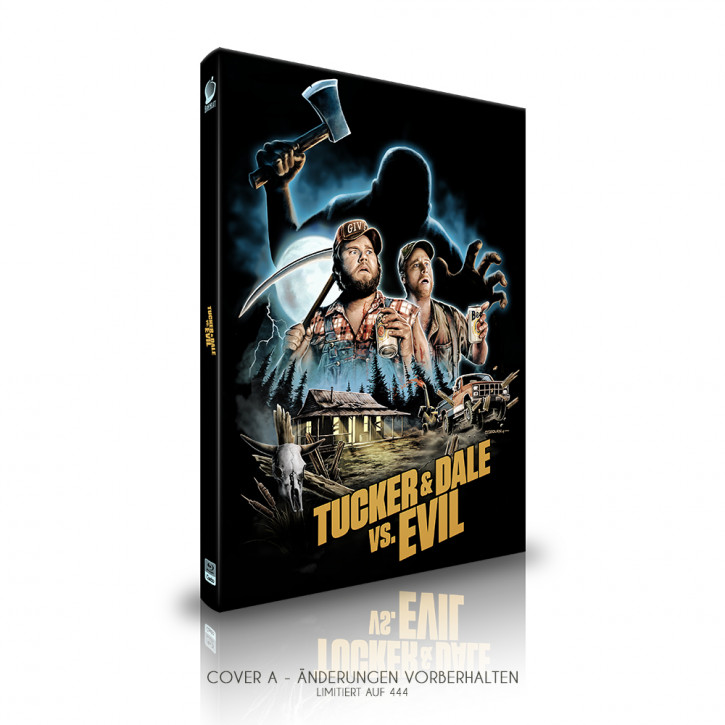 Tucker and Dale vs. Evil  - Limited Mediabook Edition - Cover A [Blu-ray]