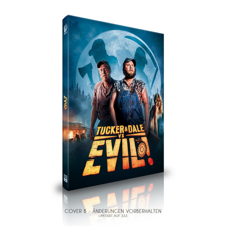 Tucker and Dale vs. Evil  - Limited Mediabook Edition - Cover B [Blu-ray]