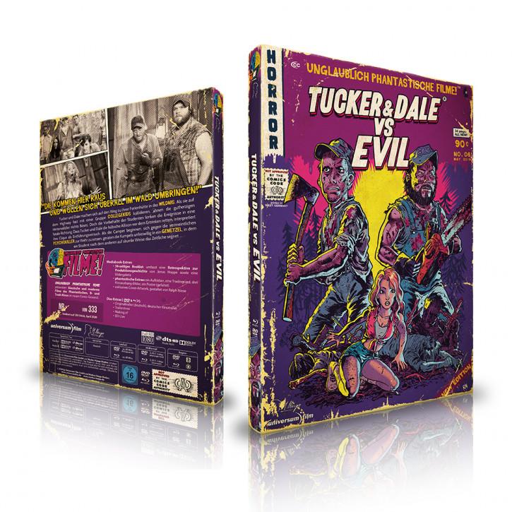 Tucker & Dale - Limited Mediabook Edition (Unglaublich Phantastische Filme-Collection #6) [Blu-ray+DVD]