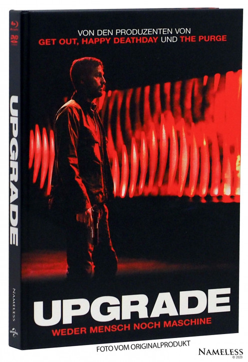 UPGRADE - Limited Mediabook - Cover B [Blu-ray+DVD]