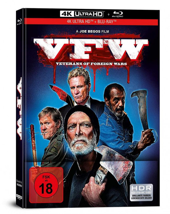 VFW - Veterans of Foreign Wars - Limited Mediabook [4K UHD+Blu-ray]