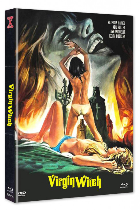 Virgin Witch - Euro Cult Collection #56 - Mediabook - Cover C [Blu-ray+DVD]