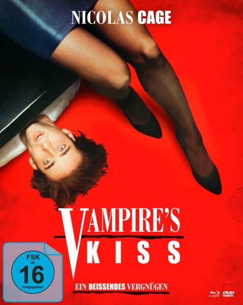 Vampire's Kiss - Ein beißendes Vergnügen - Limited Mediabook Edition [Blu-ray+DVD]