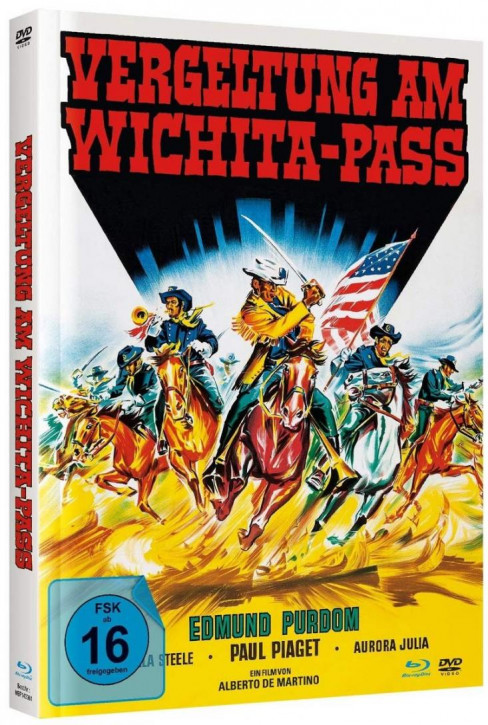 Vergeltung am Wichita-Pass - Mediabook - Cover B [Blu-ray+DVD]