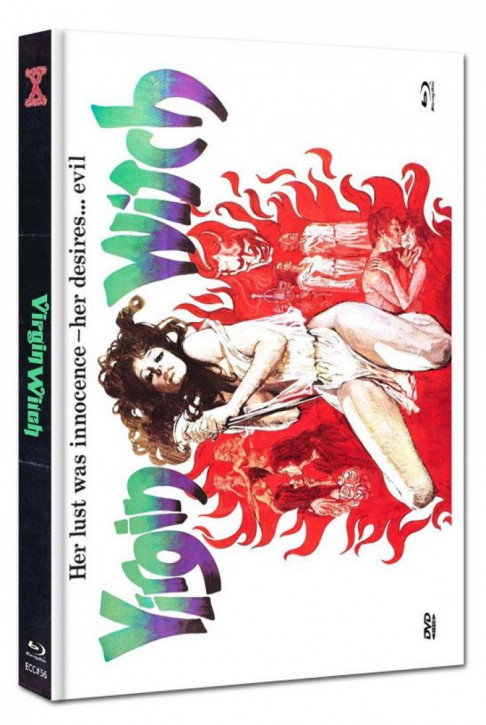 Virgin Witch - Euro Cult Collection #56 - Mediabook - Cover E [Blu-ray+DVD]