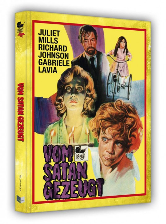 Vom Satan gezeugt - Limited Edition Mediabook - Cover A [Blu-ray+DVD]