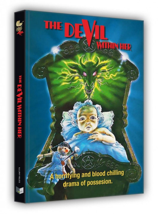 Vom Satan gezeugt - Limited Edition Mediabook - Cover G [Blu-ray+DVD]