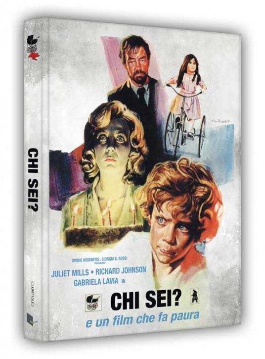 Vom Satan gezeugt - Limited Edition Mediabook - Cover J [Blu-ray+DVD]
